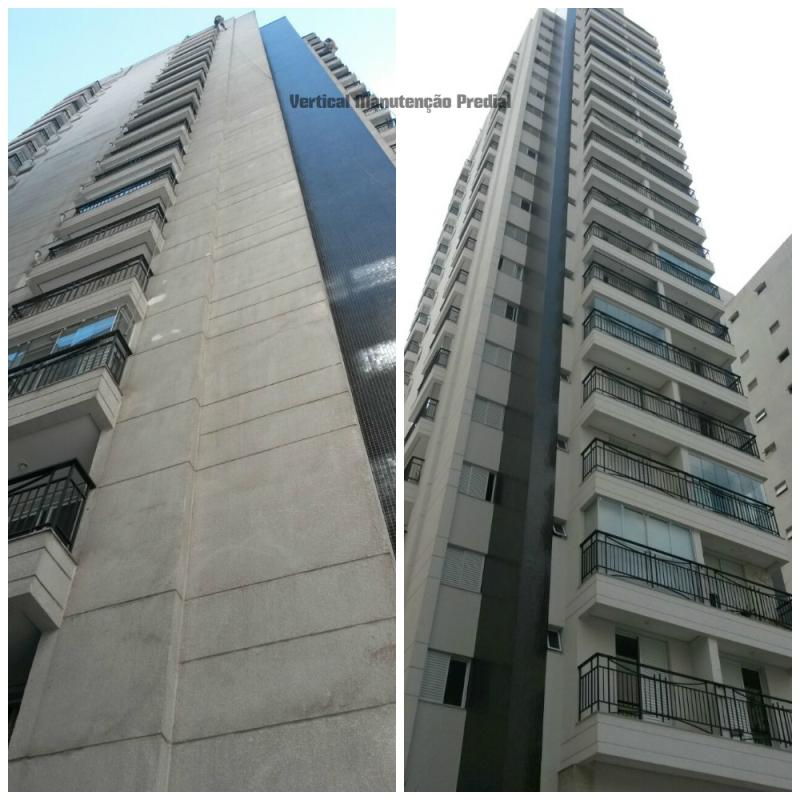 Foto - Condomínio Edifício ID Jardins - Serviço Executado: Textura Projetada e Pinta Latex / Bela Vista - SP