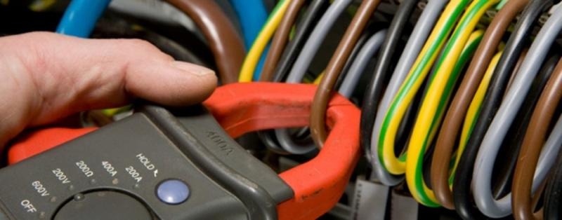 Foto - Elétrica predial, troca de tomadas,interruptores,disjuntores e quadro de distribuição.