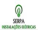 Logo da empresa Serpa instalações elétricas