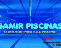 Logo da empresa samir piscinas