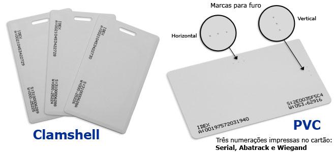 Foto - Cards de Controle de Acesso - Com ou sem Personalização