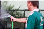 Foto - Executamos Serviços de Limpeza geral, limpeza de vidros e faixadas