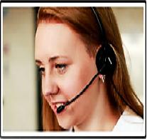 Foto - Atendendo as exigências do cliente, nossa equipe de telefonistas trabalha com agendamentos de reuniões, consultas e atendimento geral, telemarketing ativo para anúncios de produtos e/ou serviços de nossos clientes.