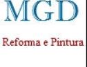 Logo da empresa MGD Reforma e Pintura