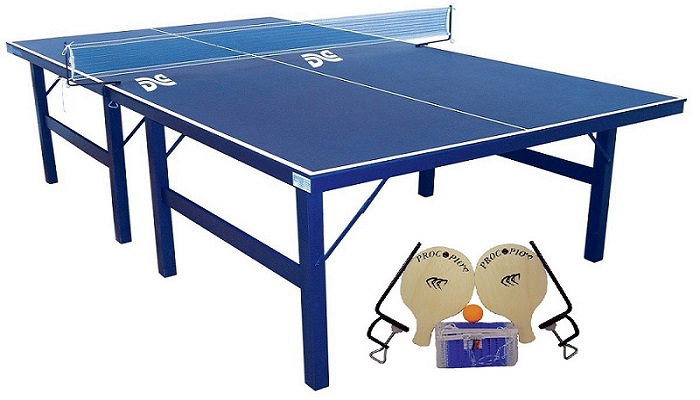 Foto - Mesa de Ping Pong Com Kit Simples