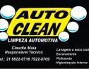 Logo da empresa auto clean limpeza automotiva