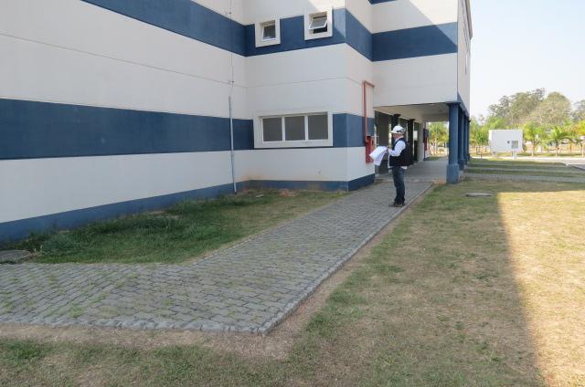 Foto - Pericia para verificação de estabilidade estrutural de auditório