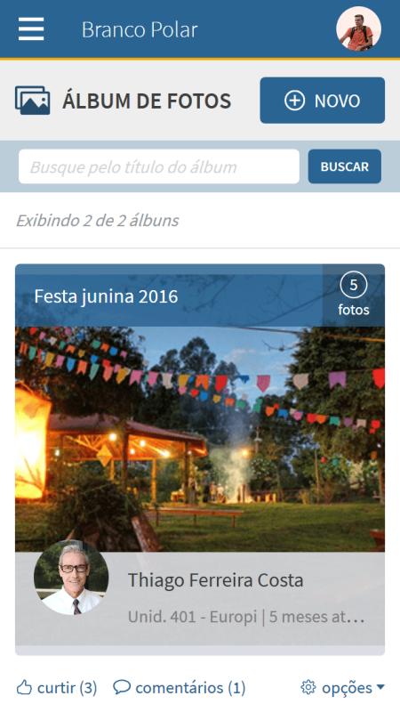 Foto - Visualização canal ÁLBUM DE FOTOS