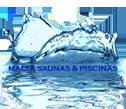 Logo da empresa ADM Saunas & Piscinas