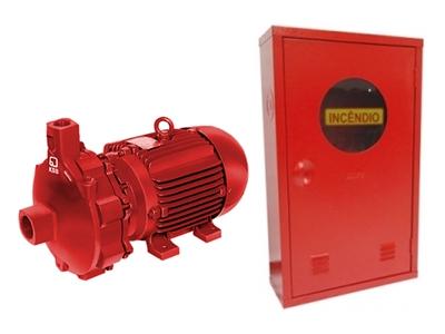 Foto - Manutenção, revenda e instalação de sistema de combate a incêndio completo e componentes.