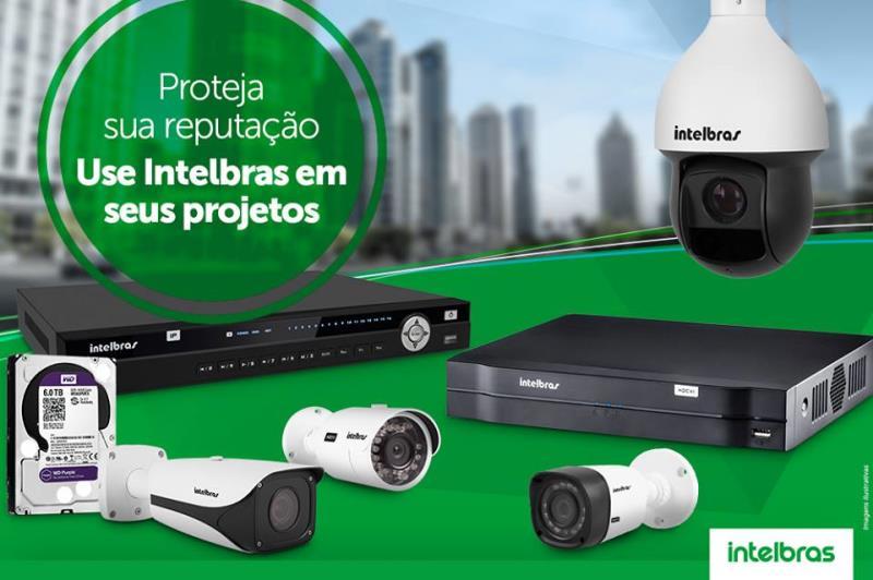 Foto - Câmeras Intelbras, as melhores soluções.