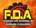 Logo da empresa FDA Soluções em Combate e Prevenção Contra Incêndio