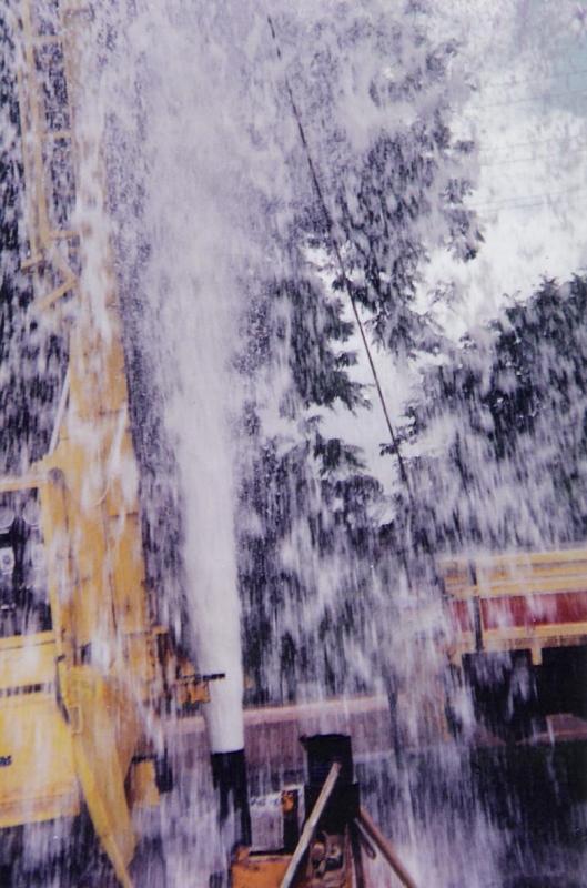 Foto - Perfuração de poço.