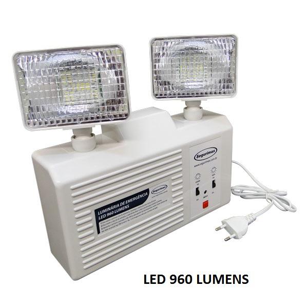 Foto - Luminária de Emergência 960 Lúmens