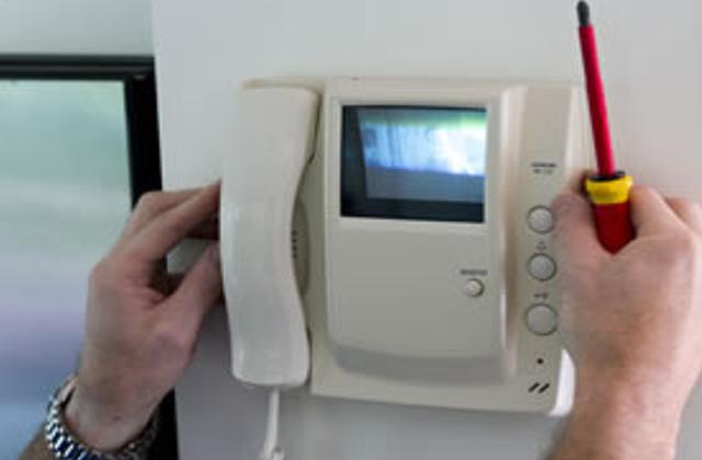 Foto - Instalação de interfones