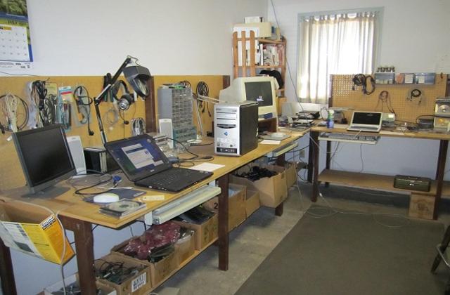 Foto - laboratório particular para testes