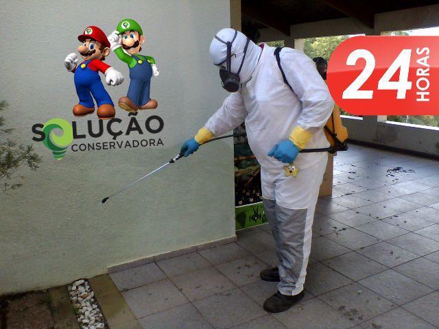 Foto - A qualidade dos venenos e sua correta utilização asseguram a cobertura da garantia sobre o controle de pragas.
