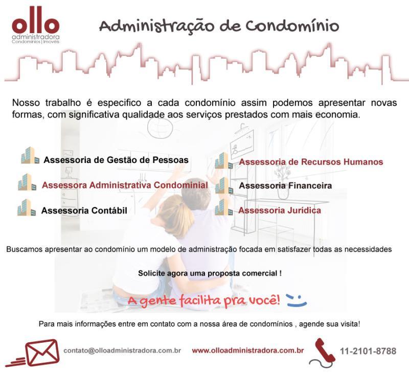 Foto - Conheça os serviços oferecidos pela OllO Administradora de Condomínios