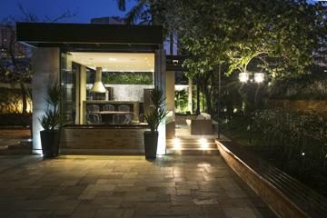 Foto - Projeto de Espaço Gourmet para prédio residencial em São Paulo.
