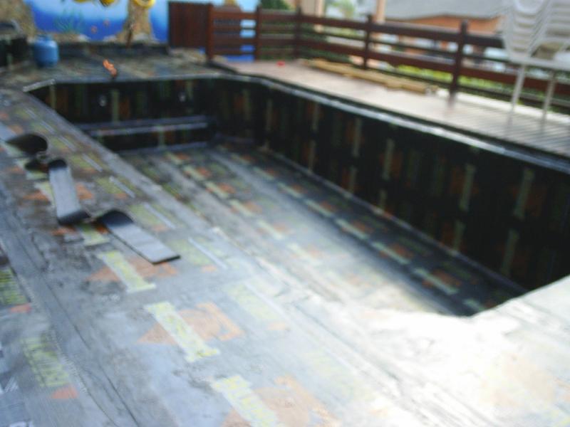 Foto - Impermeabilização piscina