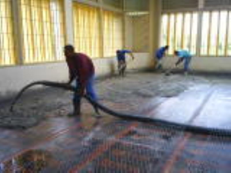 Foto - Impermeabilização de Laje e Execução de Piso em Concreto
