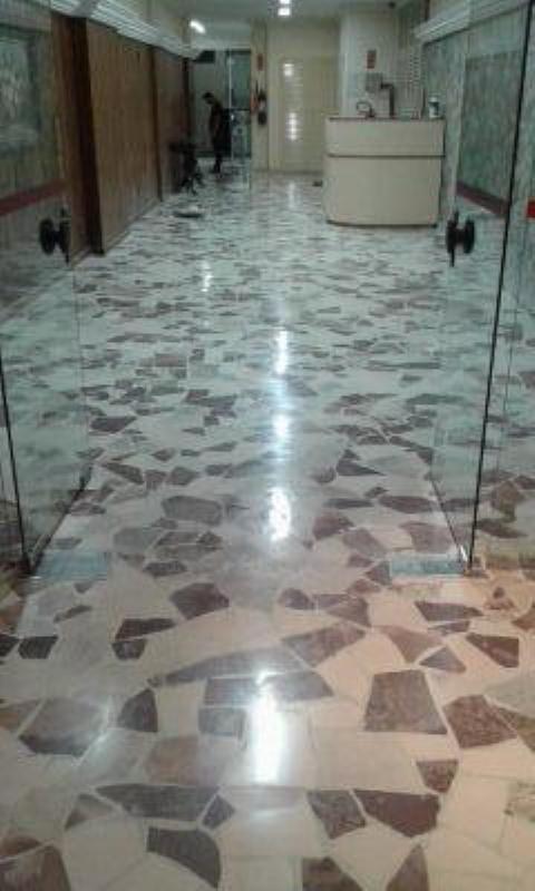 Foto - polimento caco de marmore depois