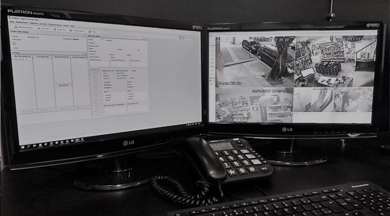 Foto - Meta Integração de Sistemas de Segurança - Monitoramento Estação