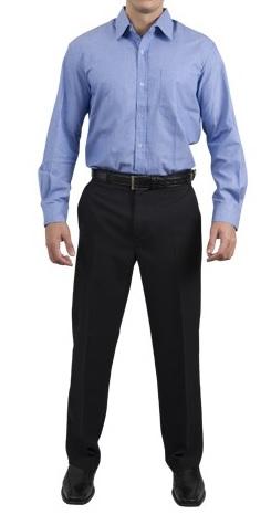 Foto - Camisa social manga longa.Tamanho 1 - 6