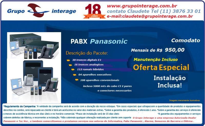 Foto - PROMOÇÃO MARÇO/17CFTV ouPABX/central portaria e interfones