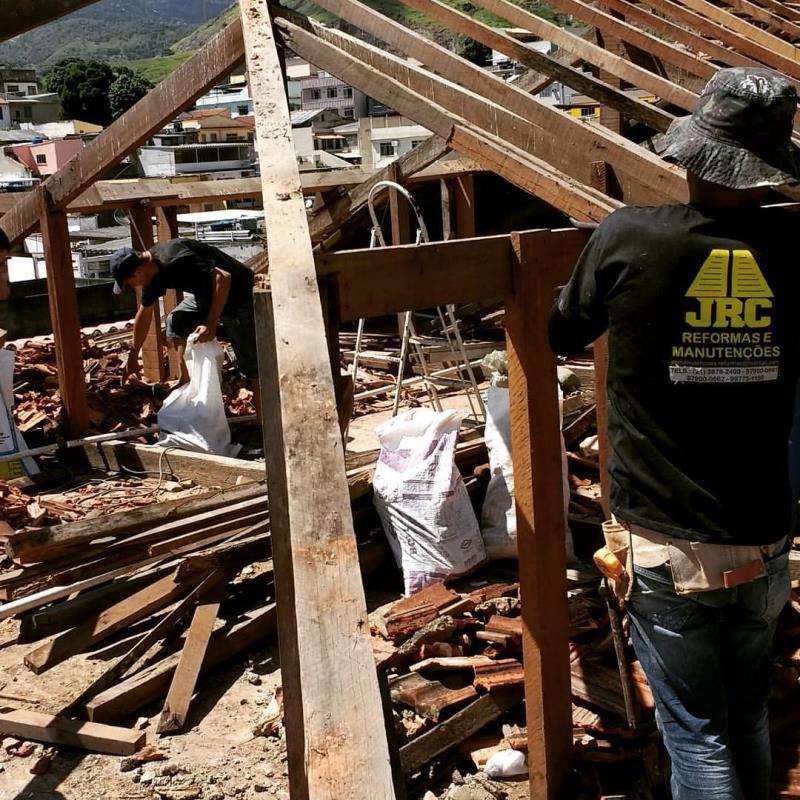 Foto - Recuperação de telhados