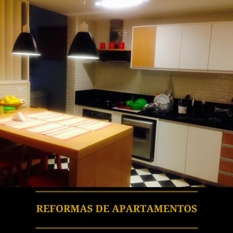 Foto - Restauração de apartamentos