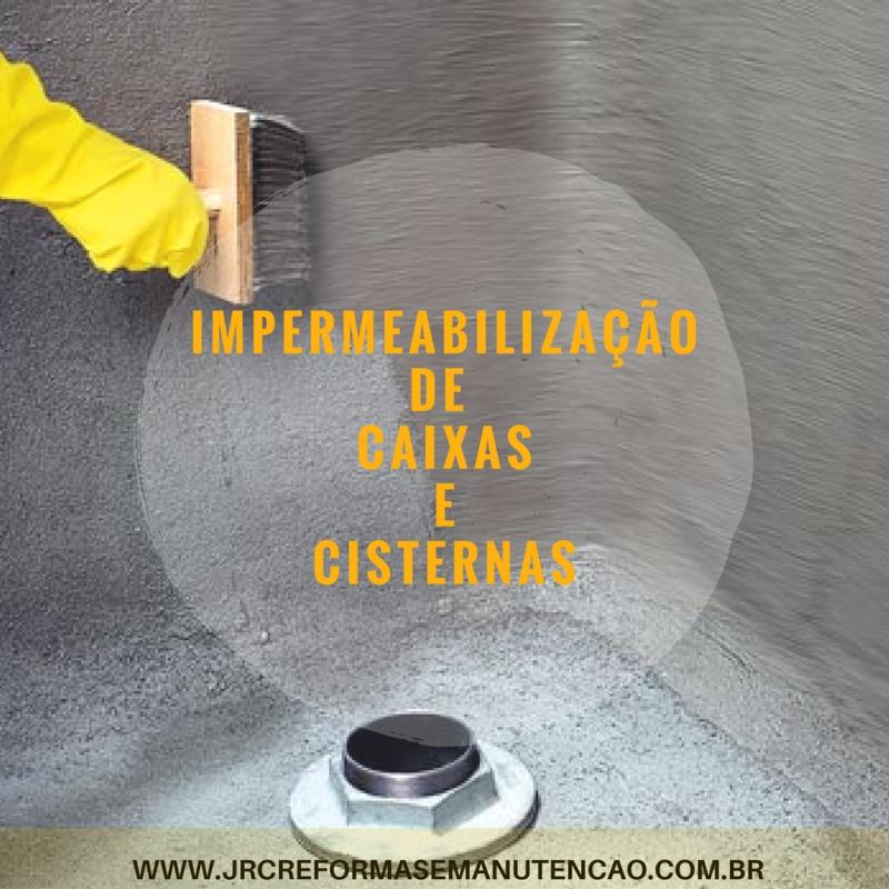 Foto - Impermeabilizações de caixas d'água e cisternas