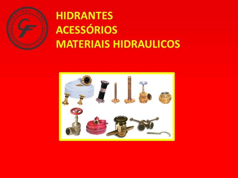 Foto - Especialidades - Hidrantes, Acessórios e Materiais Hidráulicos
