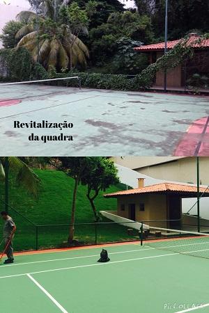 Foto - Reforma no ed. Portal de Itajuba, que fica no Horto Florestal - Salvador/Ba