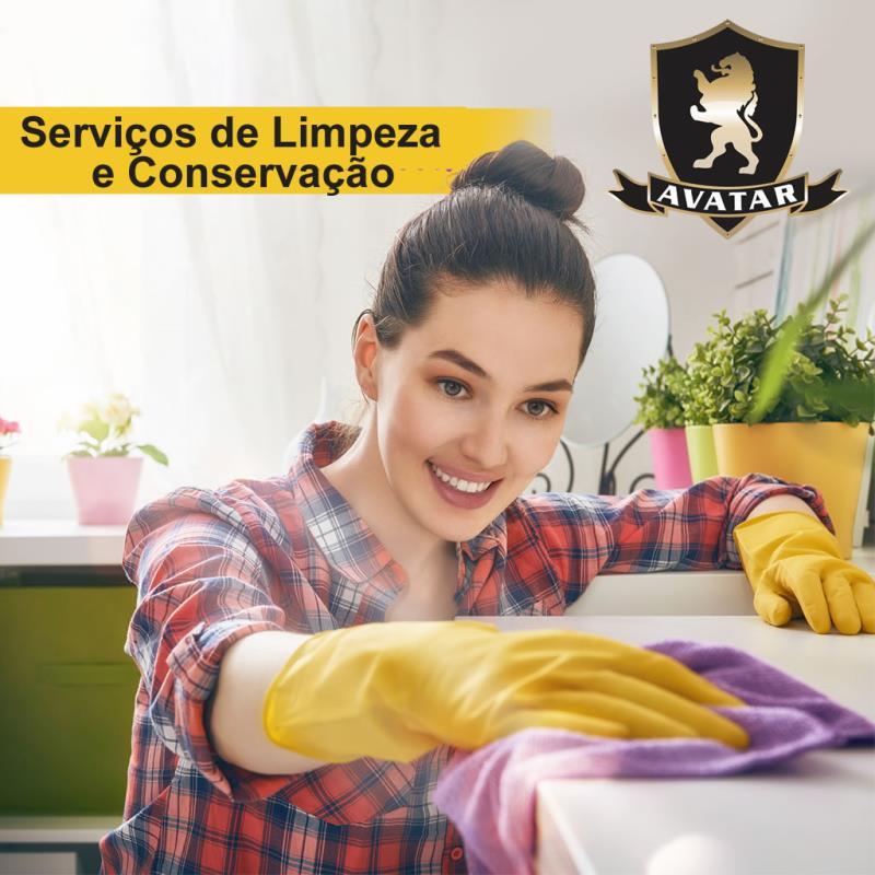 Foto - Serviço de Limpeza e conservação é com a Avatar! Conheça mais sobre www.avatarseguranca.com.br