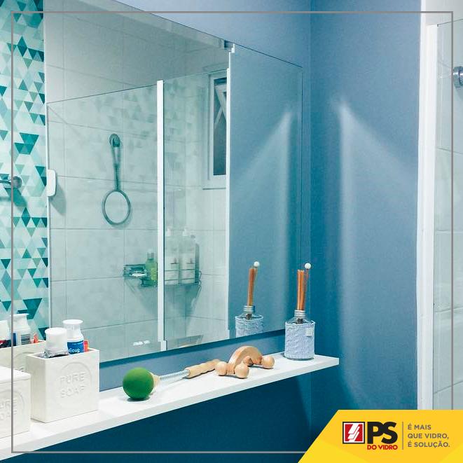 Foto - Espelho no Banheiro
