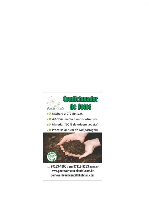 Foto - Condicionador de solo Certificado pela Sociedade Vegetariana Brasileira