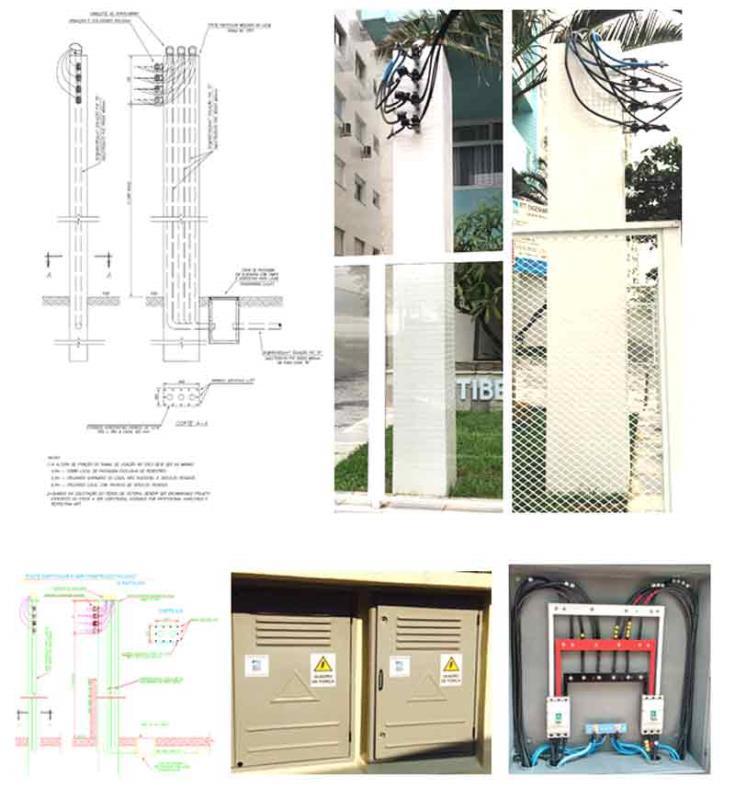 """Foto - Fotos/ilustração de """"construção de nova entrada de energia"""" - Fabricados/montados e instalados pela Spring Energy:"""