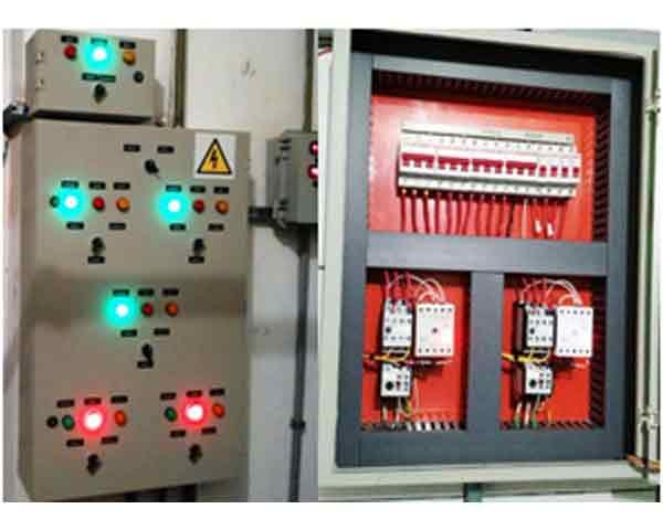 """Foto - Fotos / ilustração de """"novo quadro de comando de bombas"""" - Fabricados/montados e instalados pela Spring Energy:"""