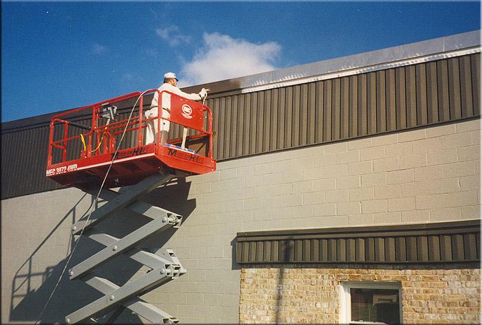 Foto - pintura de edificios