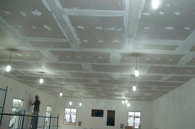 Foto - Instalação de Sancas de Gesso, gesso acartonado, Placas de Drywall e painéis em geral.