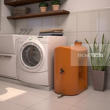 Foto - Kit Reúso de Água Tecnotri.Para uso em máquinas de lavar roupa.