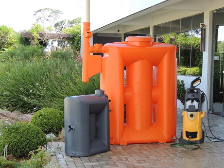 Foto - Kit Reúso de Água Tecnotri.Versão 600 litros.