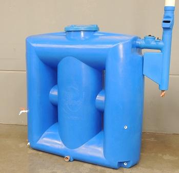 Foto - Kit Reúso de Água Tecnotri. Versão 1000 litros, com Smart Filtro Clorador.