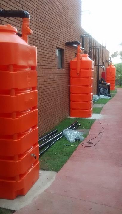 Foto - Kit Reúso de Água 1050 litros.