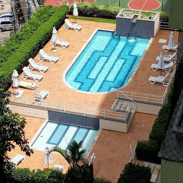 Foto - Revitalização da área da piscina
