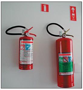 Foto - Extintor de Incêndio