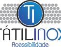 Logo da empresa Tátil Inox Solução em Acessibilidade