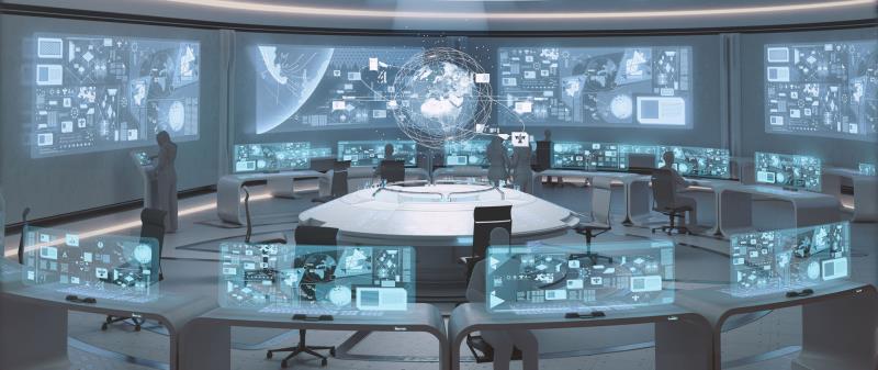 Foto - O futuro do monitoramento e operação remoto.