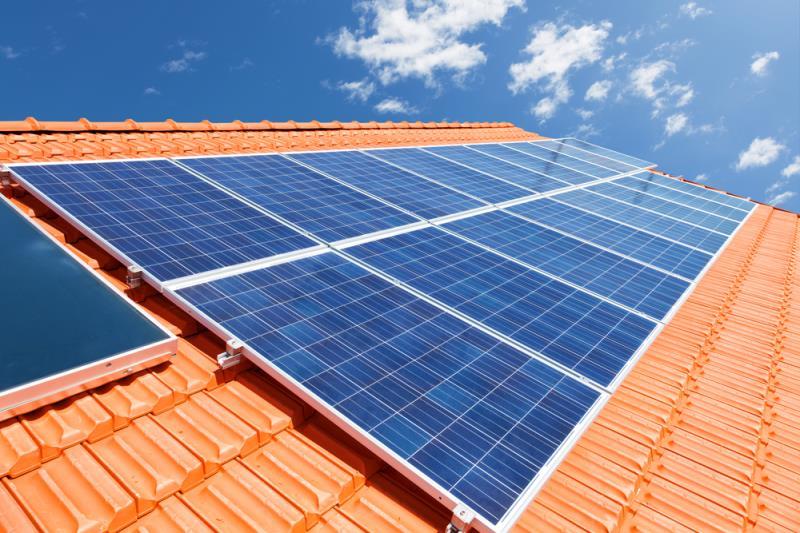 Foto - Gerador elétrico fotovoltaico